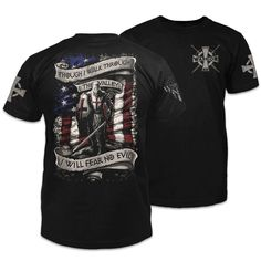 Warrior shirts feature warrior-inspired designs for patriotic Americans. We are a law enforcement veteran-owned company. Come see the Warrior 12 difference. Patriotic Outfit, Patriotic Shirts, Bus Girl, Warriors Shirt, S Pic, Cool Shirts, Shirt Designs, American, Mens Tops