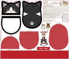 Marlon Mini Handbag by woodmouse&bobbit, click to purchase fabric