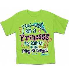 Cherished Girl Princess T-Shirt | Kidz T-Shirt Cherished Girl
