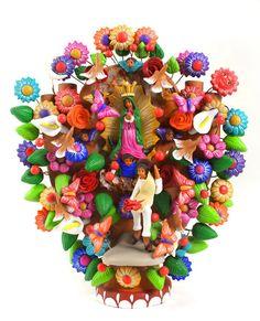 Arbol de la Vida  by master potter Alfonso Soteno from Metepec, Mexico.