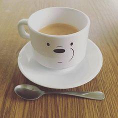 Ice Bear approves this mug ❄☕♨ Photo from @ielladoodle #icebear #mug #☕