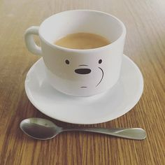 Ice Bear approves this mug ❄☕♨ Photo from @ielladoodle #icebear #mug #☕