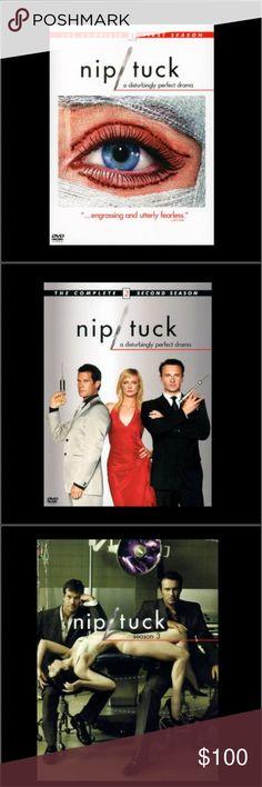 Nip tuck season 1-5 complete DVD Nip tuck season 1-5 complete DVD set great condition Other
