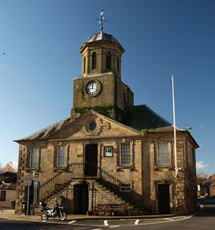 the tolbooth, sanquhar, dumfries & galloway