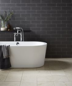 45 Best Modern Bathroom Tile Inspirations For Your Beautiful Bathroom - If you're looking for a sure fire way to bring your bathroom into the century then nothing tops tiles! Whether you want to create an ultra-modern. Bathroom Wall Panels, Modern Bathroom Tile, Loft Bathroom, Simple Bathroom, Bathroom Ideas, Modern Bathrooms, Family Bathroom, Bathroom Inspo, Dream Bathrooms