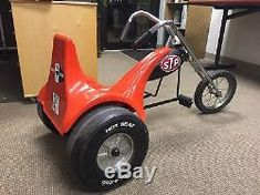 Vtg 70's AMF Junior Hot Seat Trike Motorcycle Chopper HTF Pedal Car Vw Big Wheel