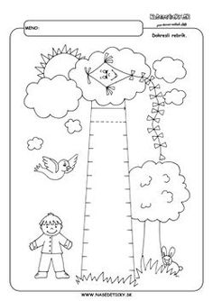 co s detickami - Kolekcia používateľky yohagolo April Preschool, Kindergarten Learning, Learning To Write, Kindergarten Writing, Baby Learning, Line Tracing Worksheets, Preschool Worksheets, Preschool Activities, Autumn Activities For Kids