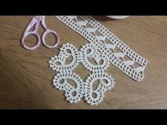 Irish Crochet Patterns, Crochet Borders, Baby Knitting Patterns, Crochet Tablecloth, Crochet Doilies, Crochet Home, Hand Crochet, Tatting Lace, Crochet Videos
