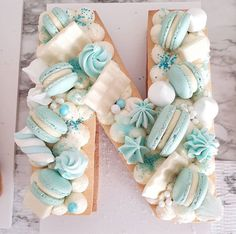The Most Beautiful Alphabet Cake Designs - The Wonder Cottage Cupcakes, Cake Cookies, Cupcake Cakes, Pretty Birthday Cakes, Frozen Birthday Party, Alphabet Cake, Cake Lettering, Ricotta Cake, Cool Cake Designs