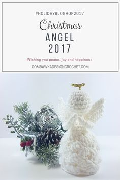 I design each of my Angels with the hope that they will bring those very same emotions to you while you crochet them and to those you choose to gift them to.