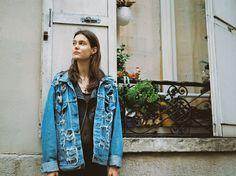 Street Style: Irina Shnitman in Shredded Denim