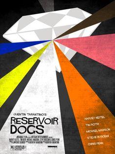 minimal movie posters music-film-art-tv-radio Epic Movie, We Movie, Film Movie, Music Film, Movie Poster Art, New Poster, Film Posters, Reservoir Dogs, Unique Poster