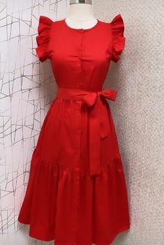 Modest Dresses, Stylish Dresses, Simple Dresses, Cute Dresses, Casual Dresses, Fashion Dresses, Fancy Dress Design, Stylish Dress Designs, African Dresses For Kids