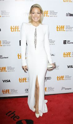 Kate Hudson wearing Alexander McQueen at the TIFF