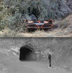 Live from the Batcave!  Bronson Caves Griffith Park, Los Angeles. with Treasure xx