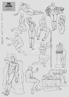 AnatoRef | Figure Drawing Poses by ROZ