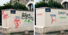 This Guy Tidies Up Ugly Graffiti By Making It Actually Readable