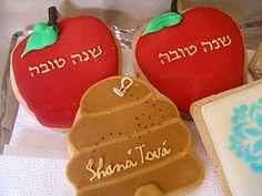 Rosh Hashana Cookies by Rachel Bortman