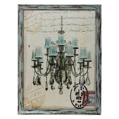 Privilege Queen Elizabeth Chandelier Print - Beyond the Rack