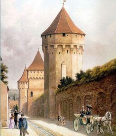 Sibiu Romania, Bucharest Romania, Renaissance, Taj Mahal, Medieval, Travel, Painting, Armies, Buildings