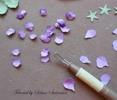 Selma's Stamping Corner and Floral Designs: Susan's Garden Violet Tutorial