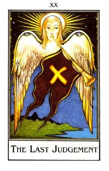 November 10 Tarot Card: Judgment (Palladini deck) Free will is the ultimate blessing. Through your choices and actions you create your own path ... good or bad, where you are right now is because of you