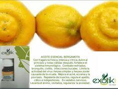 Aceite Esencial de Bergamota.    Bergamot Essential Oil