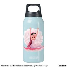 Annabella the Mermaid Thermo Small 10 Oz Insulated SIGG Thermos Water Bottle