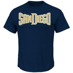 MLB San Diego Padres Men's Short Sleeve Crew Neck Tee, Navy, X-Large  http://allstarsportsfan.com/product/mlb-mens-short-sleeve-basic-logo-crew-neck-t-shirt/?attribute_pa_teamname=san-diego-padres&attribute_pa_size=x-large  Hit a style home run in the stylish Watermark basic Cotton Tee; Comfortable Short sleeve ,Crew Neck, screen print Tee proudly shows off your favorite MLB team Screen print decoration MLB SHORT SLEEVE CREW NECK TEE SAN DIEGO PADRES