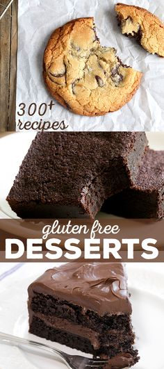 Here you'll find 300+ recipes for every gluten free dessert you can imagine, including cookies, brownies, cake, cupcakes, cheesecake and everything in between. Come see it all!