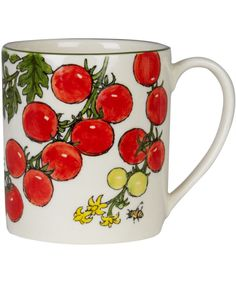 Tomato Allotment Mug. Shop more from the Kitchen and Dining collection at Liberty.co.uk