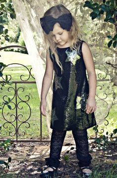 little rock star girls outfit!