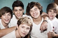 One Direction is my favorite boyband. They're also part of the reason I have become obsessed with England.