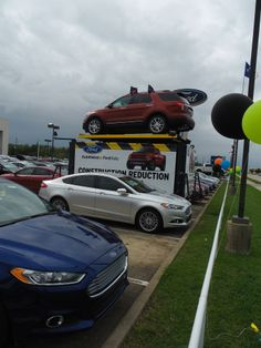 SUB rotating on an Auto Rotating Display great ROI for Dealerships