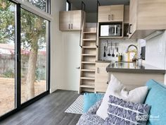 TINY HOUSE TOWN: The Nest Tiny House (260 Sq Ft)