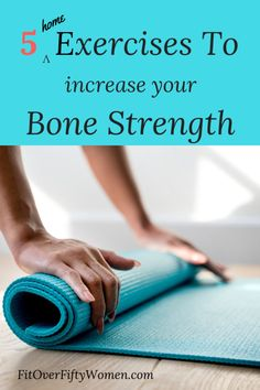 The drop in bone density is caused by falling levels of the female hormone estrogen and it's estrogen that helps to protect bone strength. Weight bearing and home exercises increase bone strength. Fitness Workouts, At Home Workouts, Workout Routines, Workout Plans, Fitness Senior, Senior Workout, Boxing Workout, Pilates, Posture Corrector For Women