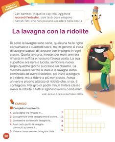 Matita e gomma 2 - Letture Italian Language, Homeschool, Let It Be, Homeschooling
