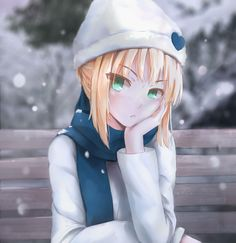 Saber from fate/night