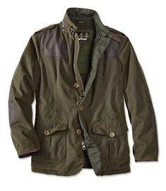 Fleece And Quilt Lined Barbour Jacket For Men - Barbour%26%23174%3b Wyton Jacket -- Orvis