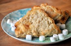 Rice Krispies Treat Scones... the flavor of a childhood treat in a homemade scone!