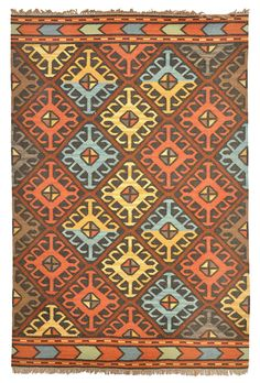 Features:  -Material: 100% Polyester.  -Origin: India.  -Style: Kilim.  -Uses…