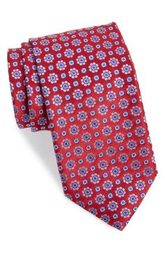 Canali Medallion Silk Tie available at #Nordstrom