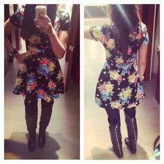 #outfit #mystyle #mycloset #boots #dress #fashion