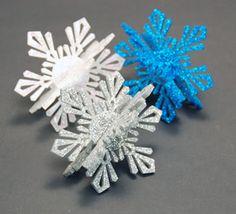 Laser Cut Acrylic Inlay Snowflake Ornament