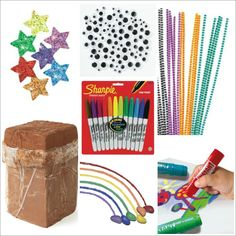 These are all MUST haves for your kids craft closet - Favorite child Art Materials!