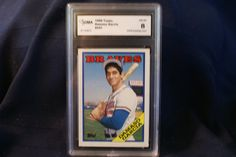 Damasco Garcia 1988 Topps baseball card 241 by GooseyLucy on Etsy