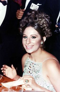 """Barbra Streisand at the """"Funny Girl"""" Movie Premiere"""
