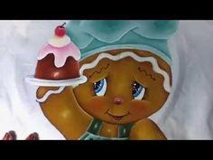 Pintura en tela jengibre # 4 con cony - YouTube