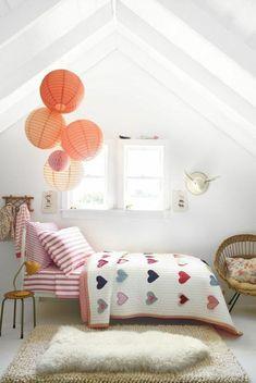 Mädchen Kinderzimmer - Zeitgenössische zauberhafte Zimmerausstattungen - http://freshideen.com/kinderzimmer/madchen-kinderzimmer.html