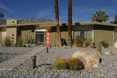 The ranch, such as this one by Alexander Bros. in Palm Springs, started as a California phenomenon.